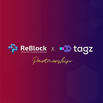 ReBlock has now become a TAGZ Exchange Business Partner